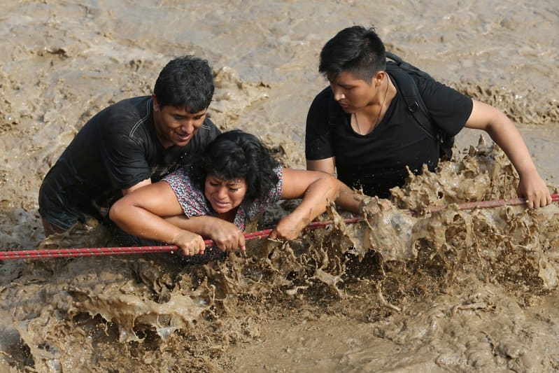 Persistent Peru Floods Destroying Historic Landmarks. How Climatech Predicted this last January