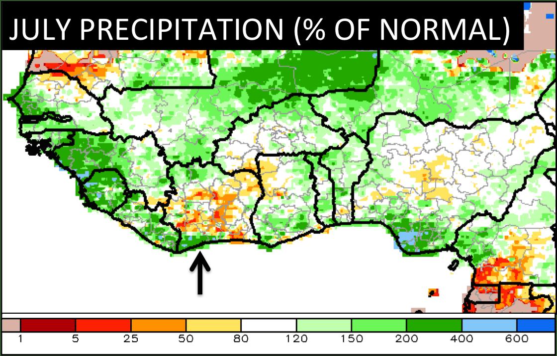 Rainfall, cocoa, futures, flood