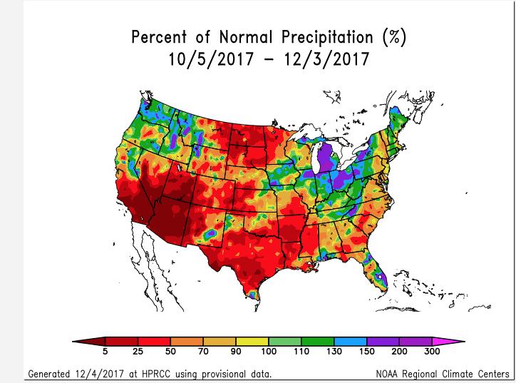USA, drought, wheat, plains, rainfall, grains