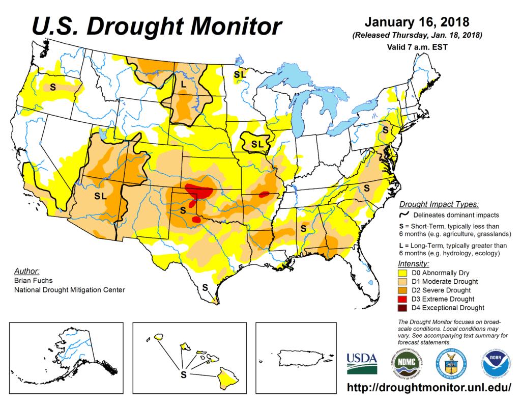 drought, CWG, stormvista, grains, futures, USA, wheat