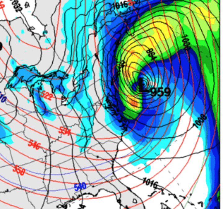 Winterkill to U.S. wheat, historic record cold and Bombogenesis?