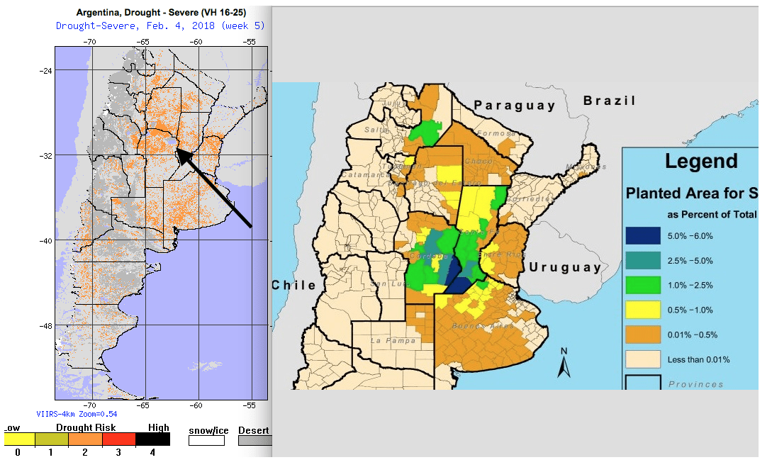 Argentina Dryness