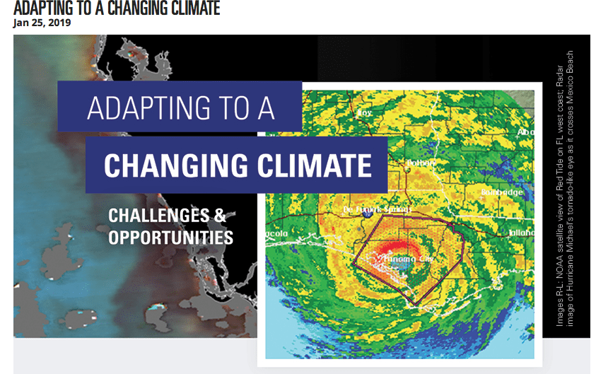 Hurricanes and Sea Level Rise–Sarasota Jan 25th Climate Change Conference