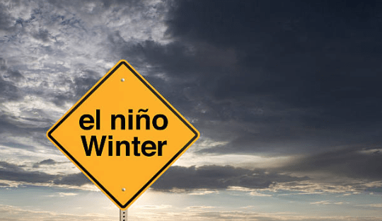 What happened to the cold U.S. winter, while Brazil dryness grows for crops?