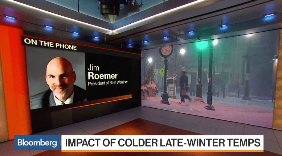 Jim Roemer on Bloomberg TV 3/14/17