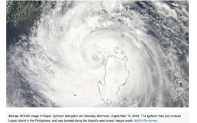 Typhoon Mangkut's destructive path and why the Atlantic hurricane season should be weakening