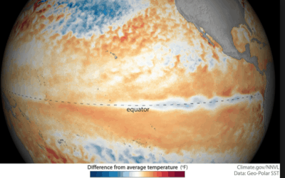 El Nino weakening. Where are the present global weather extremes?
