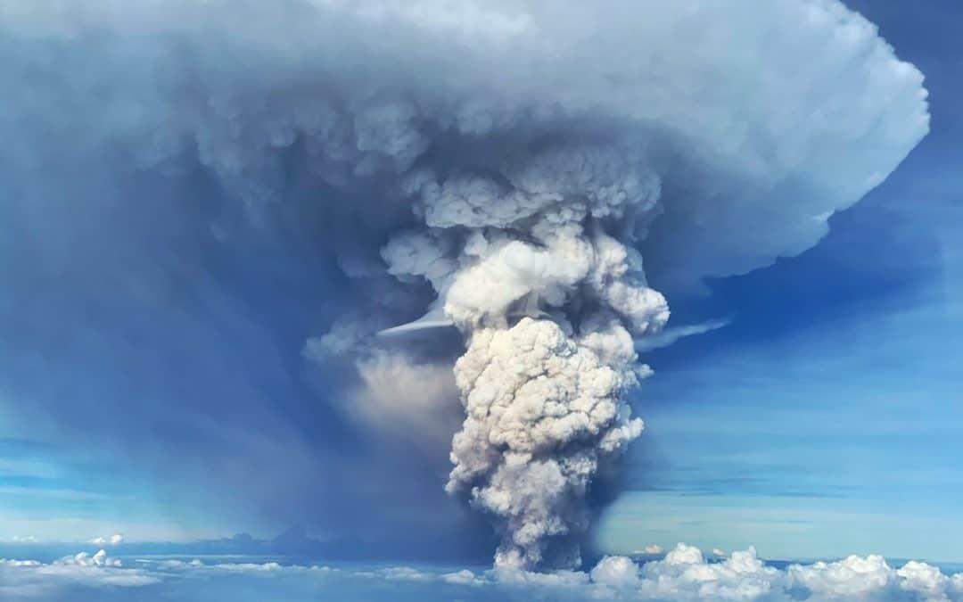 Why The Atmosphere Is Acting Like An El Nino Via  Taal Volcano