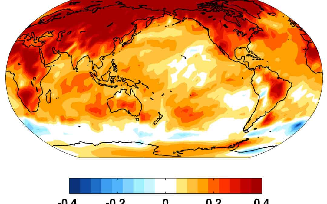More Footprints Of Global Warming: Record Warmth in the US/Europe And Antarctica