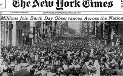 Earth Day: Not a Hippie Joke Any More