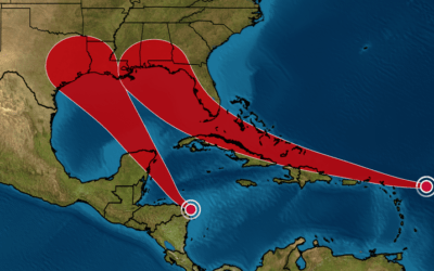 Could Two Tropical Systems Collide And Become A MegaStorm Next Week?