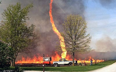 The Hottest Temperature Ever Recorded & What Is A Firenado?