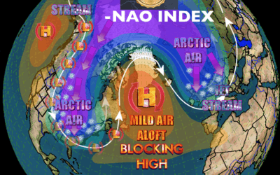 The negative nao index–implications for natural gas, wheat weather & updated view on coffee, south American weather