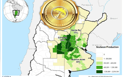 Commodities exploding: inflation fears & worsening weather situation for crops in South America